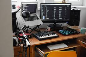 Small Music Studio Desk by My First Small Home Studio In Gdańsk Pl Album On Imgur