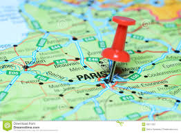 France On A Map by Red Pushpin Map France Stock Photos Images U0026 Pictures 40 Images