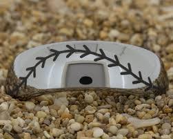 baseball wedding ring 8mm dome tungsten baseball stitch mens black tungsten ring