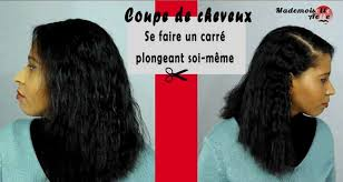comment couper ses cheveux unique tuto coupe carre plongeant comment couper ses cheveux en