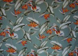 Upholstery Fabric Hawaii Bahama Breeze Barkcloth Hawaii Fabrics Vintage Style Hawaiian