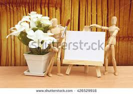 Bamboo Wall Vase Bamboo Flowers Frames Wooden Stock Images Royalty Free Images