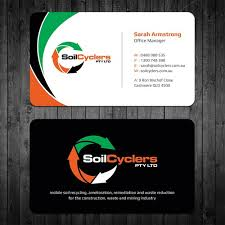 9 99 Business Cards New Business Cards For Soilcyclers Rebrand Stationery Contest