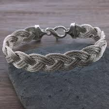 braid rope bracelet images Heavy sterling silver turk 39 s head nautical rope bracelet turk 39 s jpg