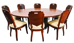 Solid Walnut Dining Chairs by Oval Solid Walnut Deco Dining Table Dining Tables Locksley