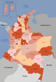 Map Of Colombia Atlas Of Colombia Wikimedia Commons