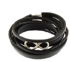 infinity braid bracelet images Infinity braid leather bracelet nde collection png