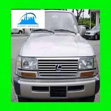 lexus lx450 aftermarket parts 1996 1997 lexus lx450 lx 450 chrome trim for grill grille w 5yr