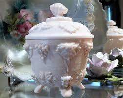 Pink Milk Glass Vase Pink Milk Glass Etsy