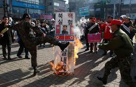 Korea Flag Image Source Says North Korea Seeks China U0027s Aid On Treaty With U S