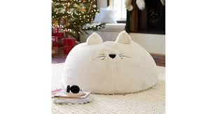 cat faux fur beanbag gifts for kids that won u0027t fit under the