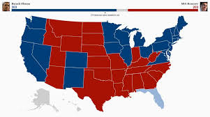 Election Map 2012 by Election Updates Obama Heads Back To Divided Government