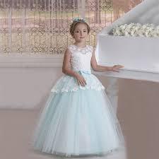 aliexpress com buy nice flower dresses white and light blue