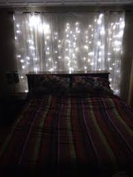 sheer curtains with lights lights and sheer curtains behind bed for the home pinterest