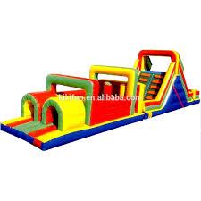 pvc tarpualin outdoor obstacle course equipment for kids and