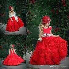 doll cake dollcake ruffles flower girl dresses with sashes lace