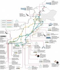 Qatar Route Map by Pakistan Fwo Completes Building Over Half Of Cpec Western Route