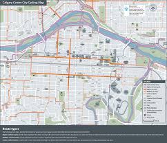 Map A Bike Route by The City Of Calgary Cycle Tracks Map