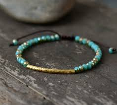 bracelet handmade images Crystal bracelets boho beaded cristal tube charm simple shamballa jpg