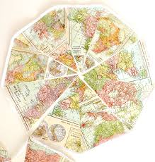 Map Fabric Amazon Com Map Banner Bunting Vintage World Map Fabric Pennant