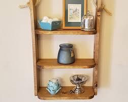 Hanging Bathroom Shelves Bathroom Shelf Etsy