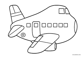 airplane color pages osclues com