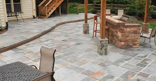 Patio Concrete Designs Stamped Concrete Designs Pool U2014 Home Ideas Collection Stamped