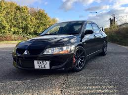 mitsubishi jdm used 2004 mitsubishi evo vii ix for sale in suffolk pistonheads