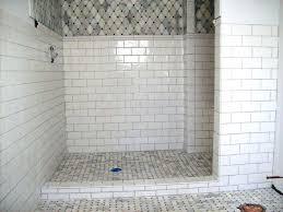 tiles bathroom shower subway tile designs bathroom white glass