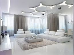 modern living room with home theater with ceiling lamp also lounge