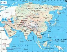 World Map Interactive by Asia Map A Largest Continent In The World Both By Area And
