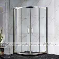 curved glass shower door ready made bathroom prefabricated unique small cheap compact round
