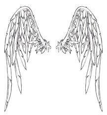 angel wings template eliolera