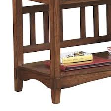 cross island sofa table cross island console sofa table in medium brown nebraska furniture
