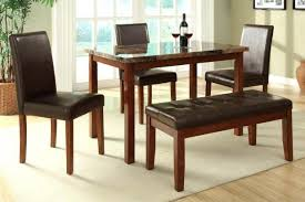 53 charming salem 4 piece breakfast nook dining room set table