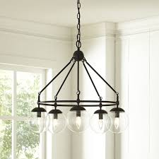 Candle Style Chandelier Cranston 5 Light Candle Style Chandelier U0026 Reviews Birch Lane