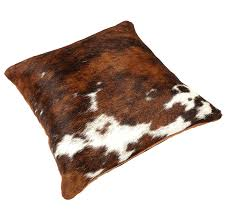 tri colour cow hide cushion temple u0026 webster