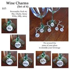 Unusual Wine Glasses by Decor Unique Wine Charm For Glass Party Decor Ideas U2014 Bdrizzled Com