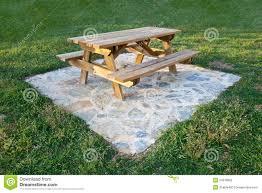 Garden Table Garden Table Stock Photography Image 24379892