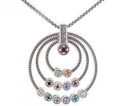 grandmother necklaces cool birthstone necklaces for jewelry grandmothers