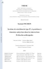 cuisine mol ulaire sph ification système de sécrétion de type iv et pdf available
