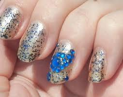 and rhinestone nail art by the crafty ninja youtube