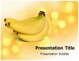 bananas powerpoint templates and backgrounds