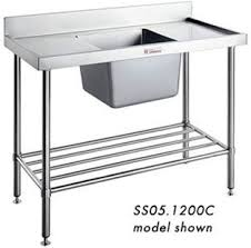 Best Commercial Stainless Steel Benches And Shelf Images On - Kitchen sinks melbourne