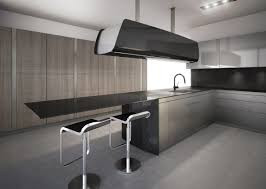 clean modern kitchen interior awesome futuristic kitchen design with black glass clean