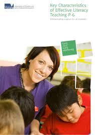 key characteristics of successful literacy teaching victoria