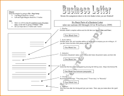 Business Letter Closing Salutation by 8 Parts Of A Business Letter The Letter Sample