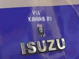 isuzu logo file isuzu minibus with che guevara logo mwenge tanzania jpg