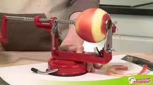 machine a pomme d amour l u0027éplucheur coupe pomme rouge youtube