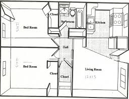 cozyhomeplans 330 sq ft small house floor plan